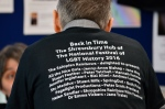 Some people discovered their name on a shirt. Photo Clare Bear