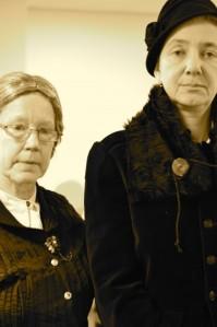 Frances and Mary. Photo Clare Bear